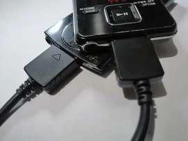 Cable para reproductor Sony MP3 cargador sincronizador modelos NWZ   A   S   E diversos modelos