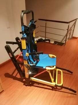 Silla de ruedas con oruga para escaleras italiana
