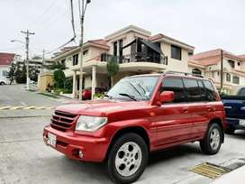 Montero IO 2002. 4x4 sunroof full