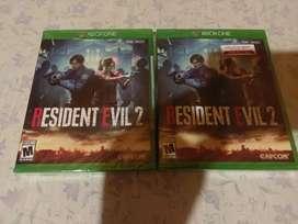 Resident Evil 2 Xbox One Nuevo y sellado