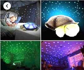 Proyector Luces Twilight Turtle Lámpara Tortuga Estrellas
