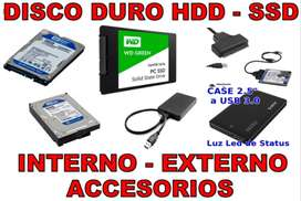 DISCO DURO PC - LAPTOP - PS3 - PS4