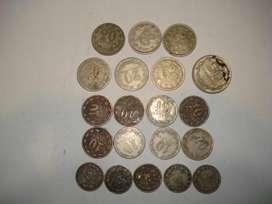 monedas antiguas Arg. Cuproniquel (x20)
