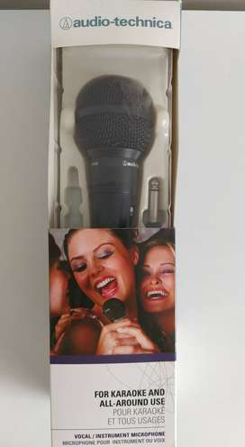 Micrófono Dinámico Unidireccional, Audio-technica