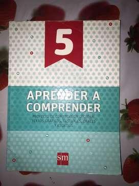Libro - aprender a comprender 5