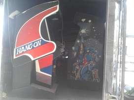 maquina arcade hang on moto video juego