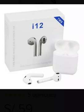 Audifonos airdpods bluetooth i12 original