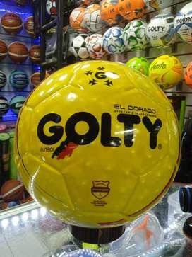 Balon Golty Dorado Futbol Sintético
