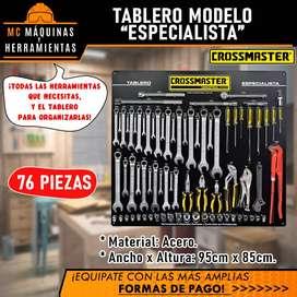 TABLERO ESPECIALISTA 76 PIEZAS CROSSMASTER COMPLETO
