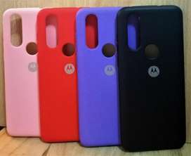 funda original case Soft afelpada adentro Motorola One Vision