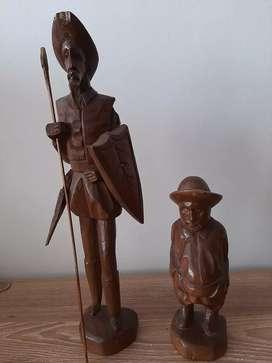Esculturas madera quijote