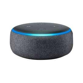*Alexa - Amazon echo dot 3ra Generación - Asistente de Voz