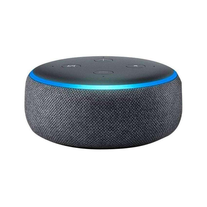 *Alexa - Amazon echo dot 3ra Generación - Asistente de Voz 0