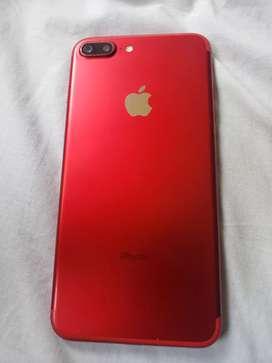 IPhone 7 plus red edición especial 128GB