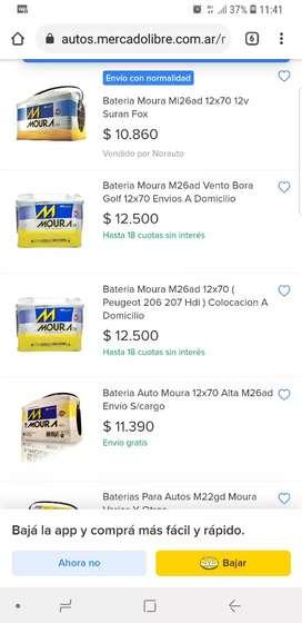 Batería Moura 12x70