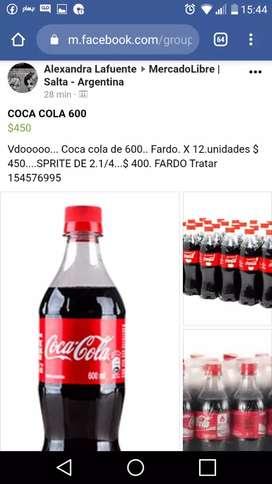 Vdoooo coca cola. De 600
