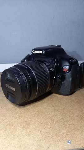 Canon t3i cámara