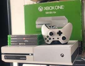 Cambio Xbox One de 500GB a PS4