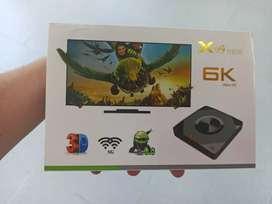 Tv box X96q 2gb de ram con 16gb de almacenamiento
