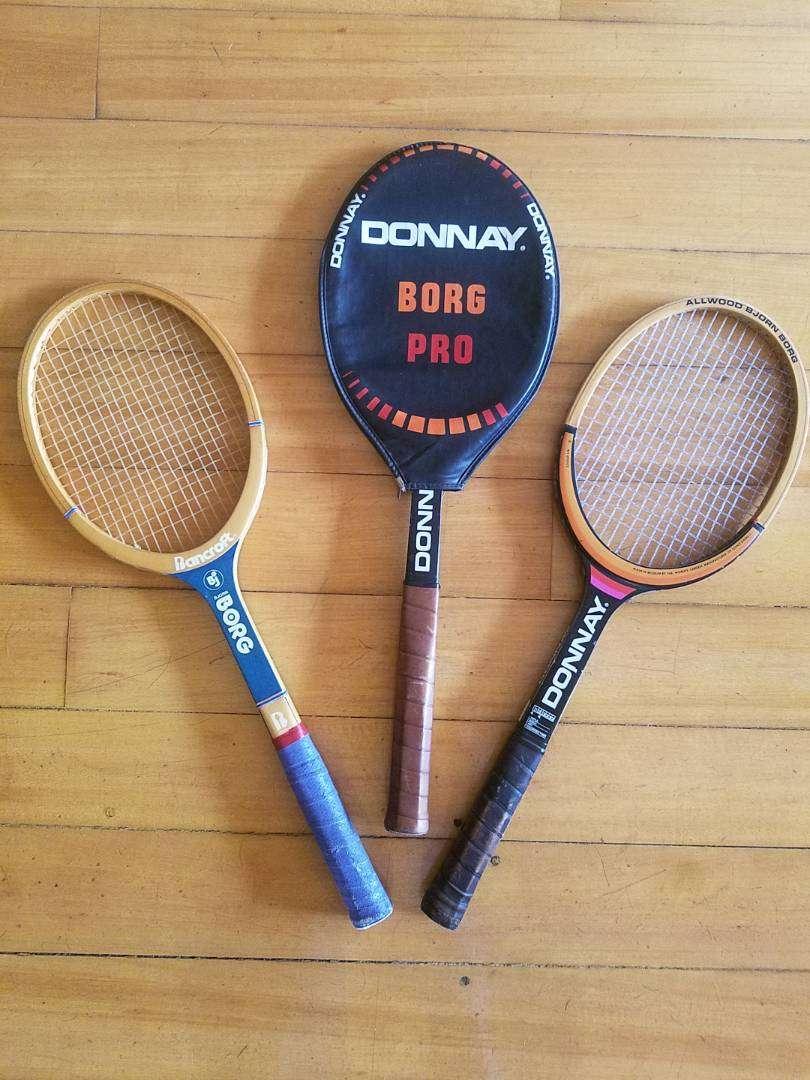 Raquetas de tenis Clásicas de los 80 0