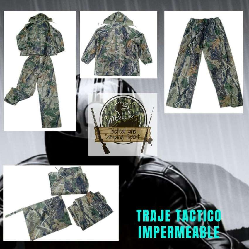 Traje Tactico Impermeable 0