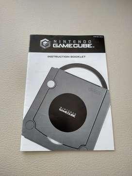 Manual de instrucciones Nintendo Game Cube