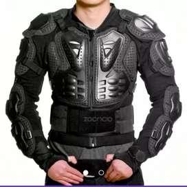 Pechera Protectora Motociclista Body Armor Protección Motos