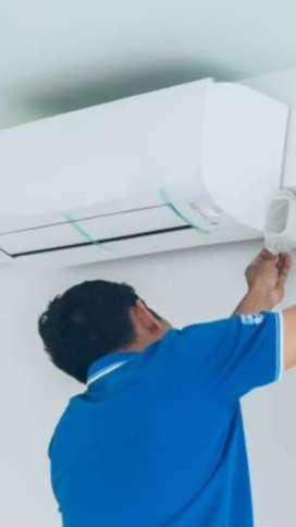 Instalaciones y reparaciones de aires acondicionado y split