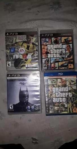 Se vende pack de juego PS3. (Precios negociables )