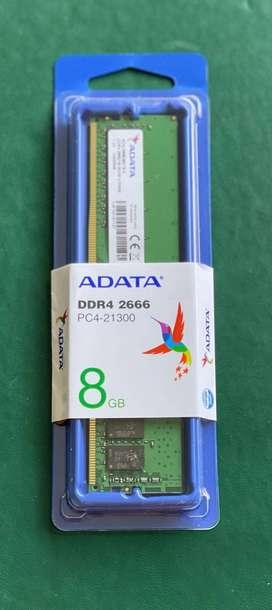 Memoria RAM DDR4 - 8 GB (Nueva)
