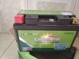 Baterías de litio para motos Lithium 12Ah
