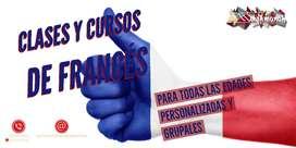 CLASES Y CURSOS de Francés