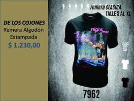 Remera *De Los Cojones*