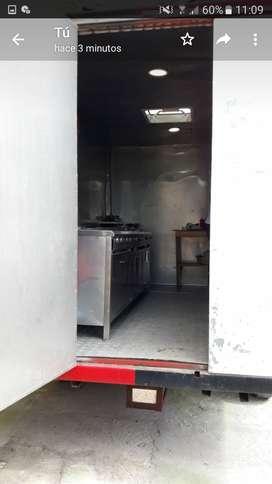Camper Remolque movible con cocina