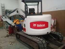 Miniretroexcavadora Bobcat 435