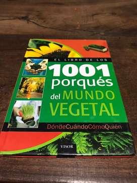 El libro de los 1001 porqués del MUNDO VEGETAL.