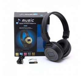 Audifonos Diadema Bluetooth N65bt Mp3