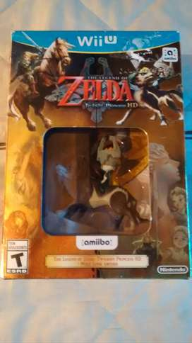 Zelda Twilight Princess Wii U + Amiibo Nuevo Original