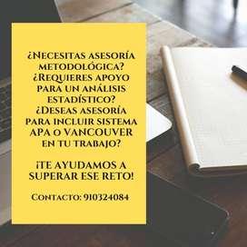 ASESORIA DE TESIS DE GRADO, PROYECTOS, INFORMES ACADÉMICOS  EN TRUJILLO