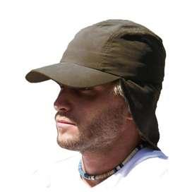 Gorra Cachucha Safari Cuello Capa Dril Viaje Sol Unisex