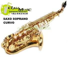 Saxofón Soprano Prestini Nuevo