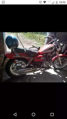 Moto guerrero