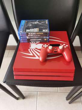 Play4 pro edicion espacial spiderman