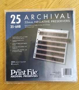 Gran Oferta 18 Archivadores de Negativos Print File de 35mm!!!