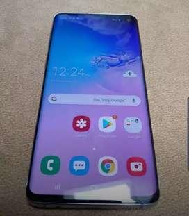 Samsung s10 128gb vendo o cambio