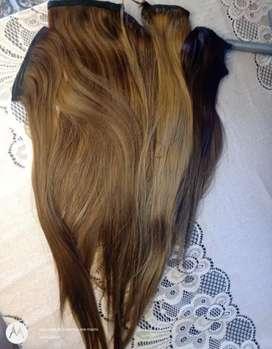 5 extensiones de cabello en capas