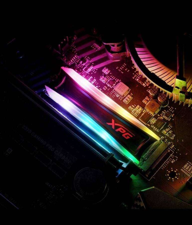 Disco Duro Sólido SPECTRIX S40 RGB 1 TB