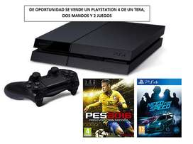 se vende un playstation 4