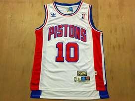 CAMISETA NBA DETROIT PISTONS ( H. CLASSIC ) # 10 RODMAN