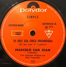 Simple de Marcelo San Juan año 1973